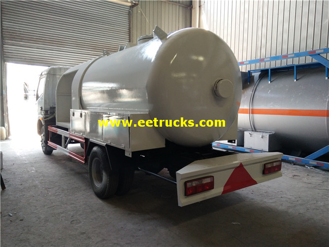 Propane Gas Filling Truck