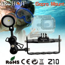Archon Z10 Adjustable Diving Gopro Mount, Gopro Hero 3 Mount for Diving Flashlight