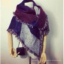 Fashion Women Warm Tessel Blanket Echarpe en cachemire d'hiver