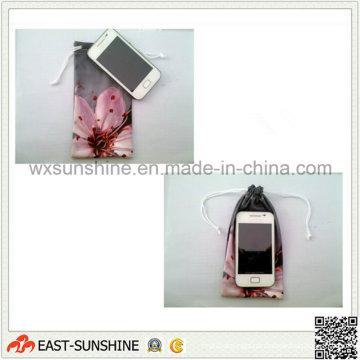 Pacote de bolsa de telefone de microfibra (DH-MC0403)