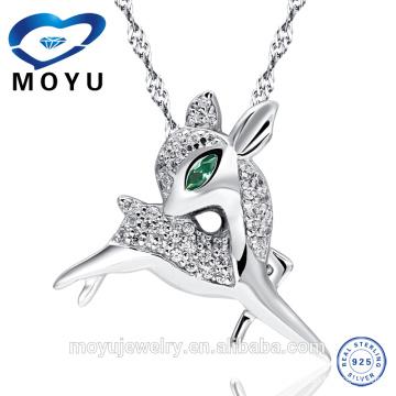 Colgante de la venta al por mayor de la venta al por mayor de la joyería de la plata esterlina 925 como regalo de la Navidad