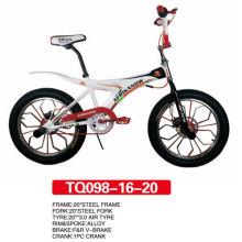 BMX Freestyle de Bicyclette avec Roue Alluminum 20 pouces