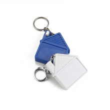 House Shaped Mini Steel Tape Measure