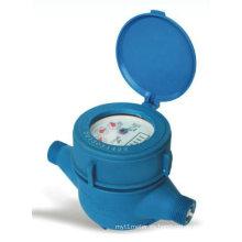 Rotary-Vane Dry-Dial Medidor de agua plástico (LXSG-15 ~ 25)