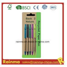 Дешевая бумажная шариковая ручка в большом количестве