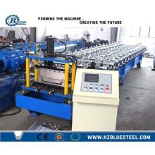 Bonne qualité Machine de fabrication de panneaux de carreaux en métal coloré Bemo / Fer galvanisé GI Bemo Roll formant