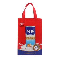 Red Covered Non Woven Bag