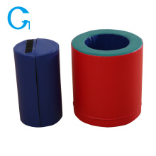 Jouet éducatif bleu de jeu doux intérieur cylindrique
