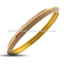 Wolesale Fashion Bracelet Bracelet en émail élastique en or
