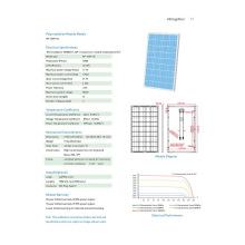 Панель солнечных батарей ГП-105п-36