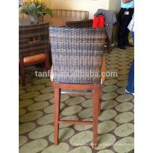 древесины современная мебель из ротанга для отель и ресторан