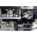Machine de gaufrage personnalisable pour étiquettes en tissu silicone