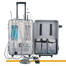 Портативный стоматологический аппарат со скалером и световым лечением