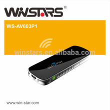 WiFi to Display Receiver, DLNA and AirPlay Mode,Supports Full HD 1080P video and audio,CE,FCC
