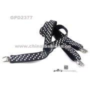 Elastic suspenders/Fashion accessories/Printed suspenders: Popular glue printed-STAR!
