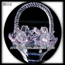 Cesta de flores de cristal K9