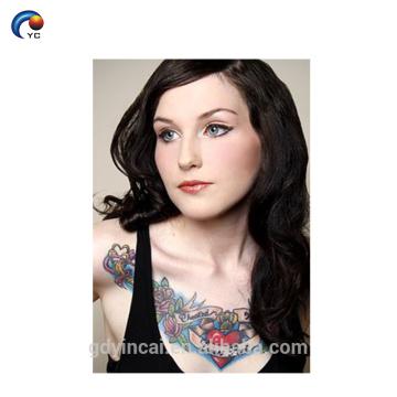 Alta qualidade de transferência de água impressão corpo maquiagem tatuagem colar no melhor preço