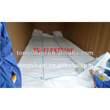 Food grade flexible bag for palm oil transport