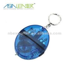 1 porte-clés à diodes lumineuses