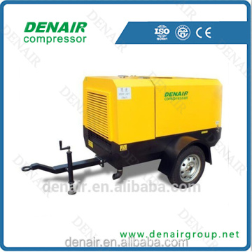 550 - 900 CFM Electric Mobile Air Compressor