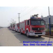 Steyr King 6 wheels water foam fire fighting truck