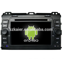 Зеркало-ссылка на Android 4.4 ГЛОНАСС/GPS 1080p и двухъядерный DVD-плеер автомобиля для Тойота Prado 120 с GPS/Bluetooth/ТВ/3Г