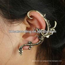 2013 individual vendimia oído cuff al por mayor Ear clip pendientes joyas EC60