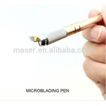 3D sobrancelhas semi permanente maquiagem microblade caneta, profissional permanente maquiagem caneta manual