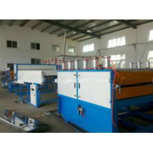 PC /PP/PE/PVC Plastic Hollow Grid Board Extruding Machine