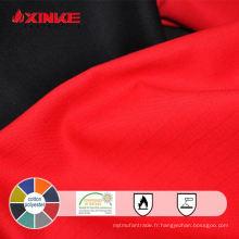 Tissu ignifuge de polyester / coton 325GSM pour des vêtements de travail