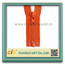 Flexible Custom #10 Plastic Big Zipper