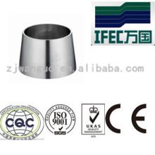 Réducteur de soudure sanitaire en acier inoxydable 304 / 316L