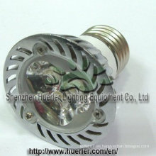El poder más elevado MR16 de 12v 24v 3W llevó la lámpara del punto