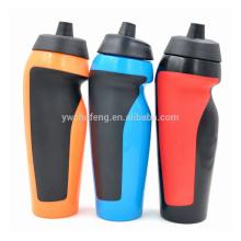 Botella plástica promocional de la bebida, botella de consumición de los deportes 600ML, botella de agua
