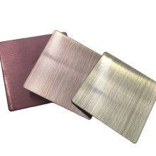 Color PVD Coating Stainless Steel Sheet Mirror For Decoration
