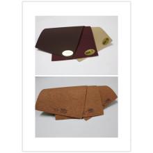 Lichia em relevo couro de imitação para mobiliário de barco / iate