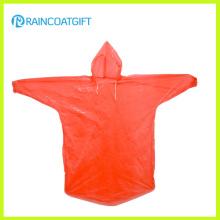Manteau jetable bon marché PE Raincoat Rpe-061