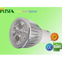 4W Ultra Bright GU10 Flat Scattering LED Spot Light with CE RoHS Approved