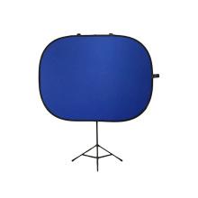 Fondo de fotografía azul de fondo plegable de 5x6.5 '