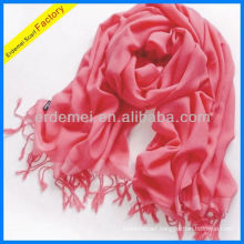 Lady wholesale watermelon red color scarf