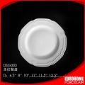 a granel compra de platos de porcelana blanca barata china porcelana