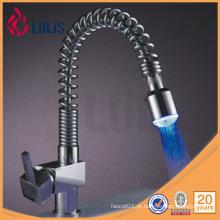 Mangueira de água flexível flexível levou faucet led levou faucet (A0028-LED)
