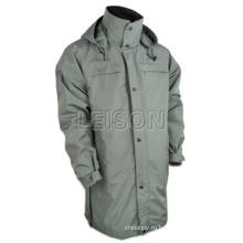 Длинные стиль водонепроницаемая куртка для различные мероприятия на свежем воздухе