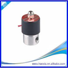 2S025-08 Válvulas de aço inoxidável 304Válvulas de aço inoxidável DC12V Válvula de bobina quadrada IP65 Ar, Água, Óleo, Gás