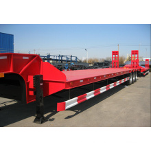 The Cimc Three Axles Low Bed Semitrailer