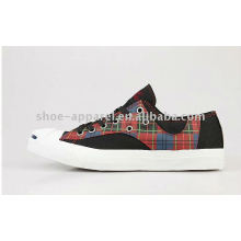 popular vulcnaized canvas shoes for women