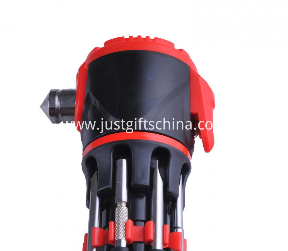 Personalized Multifunction Emergency Hammer W Flashlight