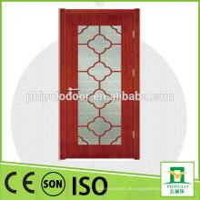 2015 China Herstellung neuer Produkte billig Interieur Holztür mit Glaseinsätzen