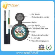 GYTC8S Câble de fibre optique extérieur blindé fabriqué en Chine