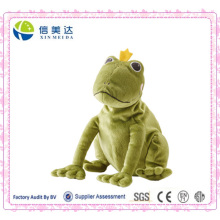 The Frog Prince Plush Toy Soft Green Frog Toy